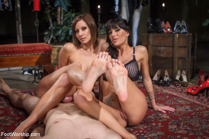Gia dimarco foot fetish had been