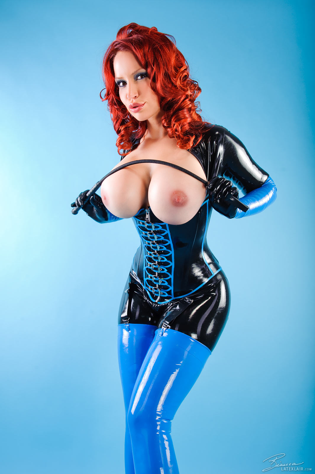 latex boobs