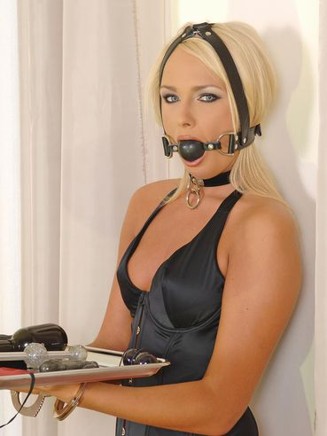 Sexy, but helpless, Ivana Sugar has to obey a man and serve him in all meanings!