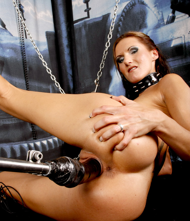 image New shoes fuck machine tied up