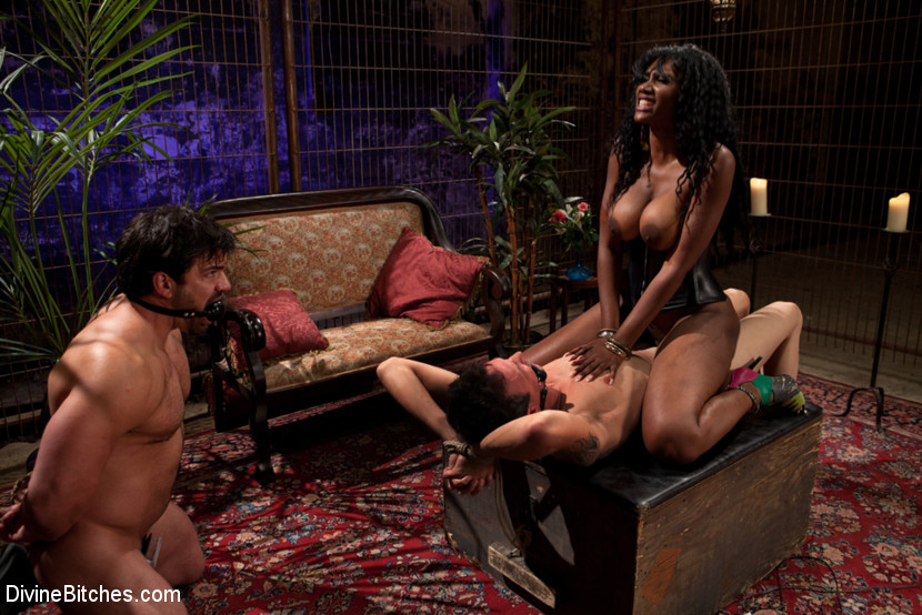 Olivia Austin Takes Two Black Cocks  Cuckold Sessions