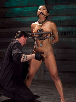 When you hear about Adriana Luna, you are more probably watching a BDSM clip.
