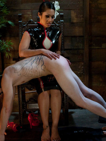 Boy toy Kade gets tortured and humiliated by oriental domina Dragon Lily