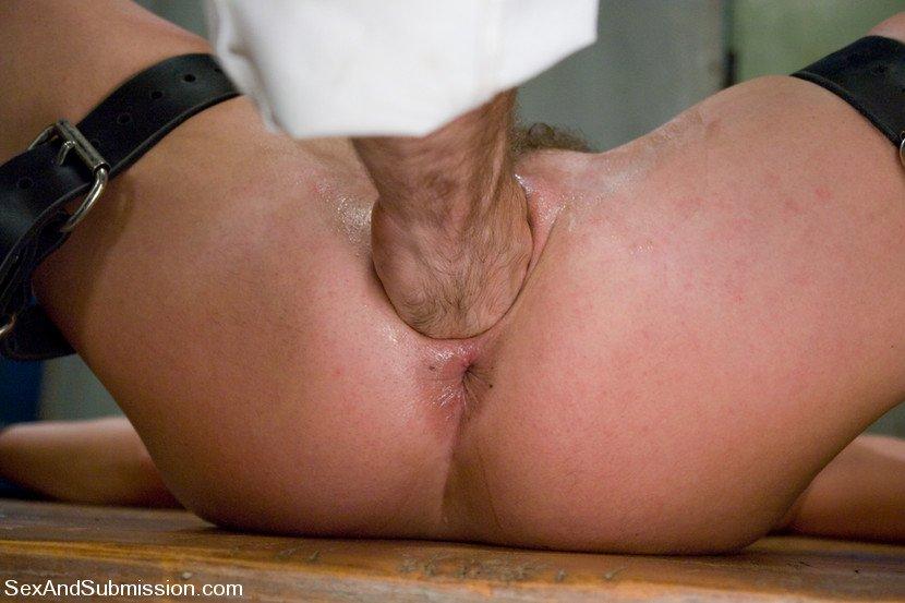 Women using dildo herself