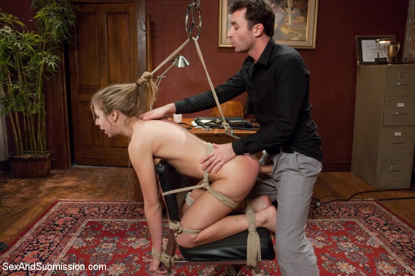 Chastity lynn bound gangbang 2012 part1 - 1 part 9