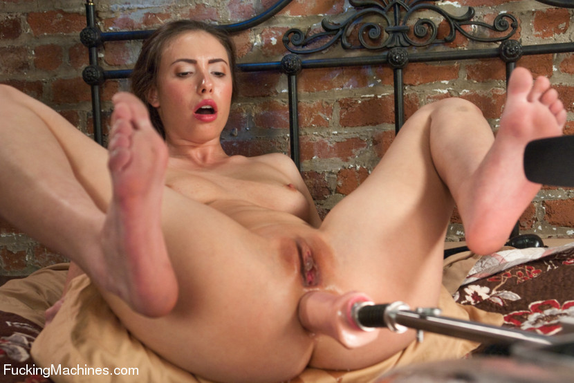 casey calvert fucking machines