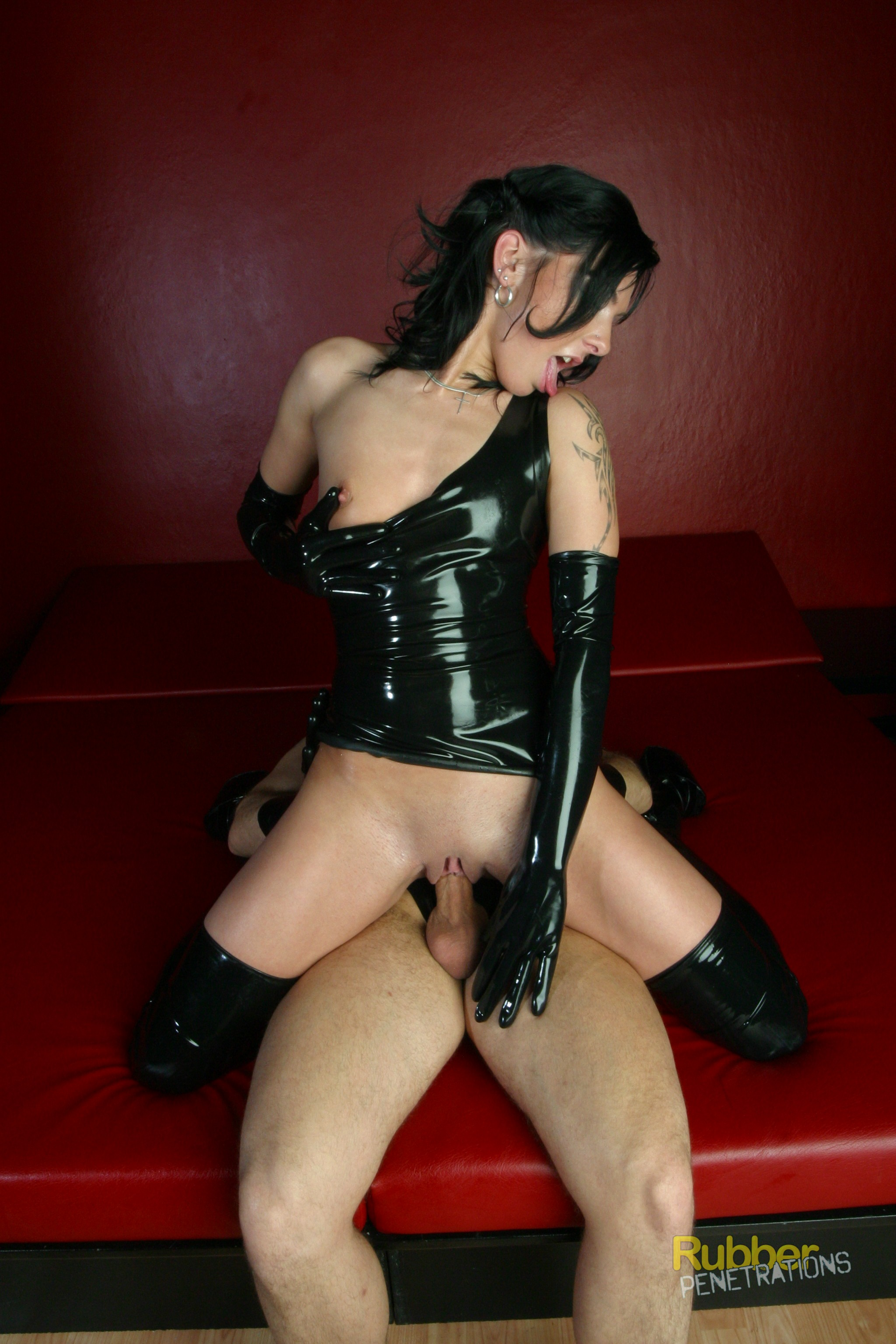 Extra tight rubber pussy understand you