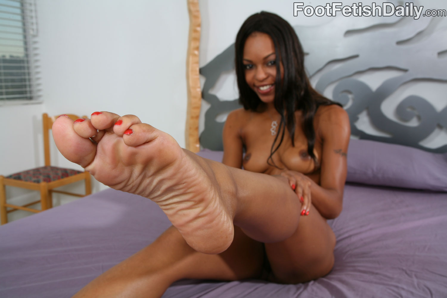 Foot fetish free porn black woman necessary phrase