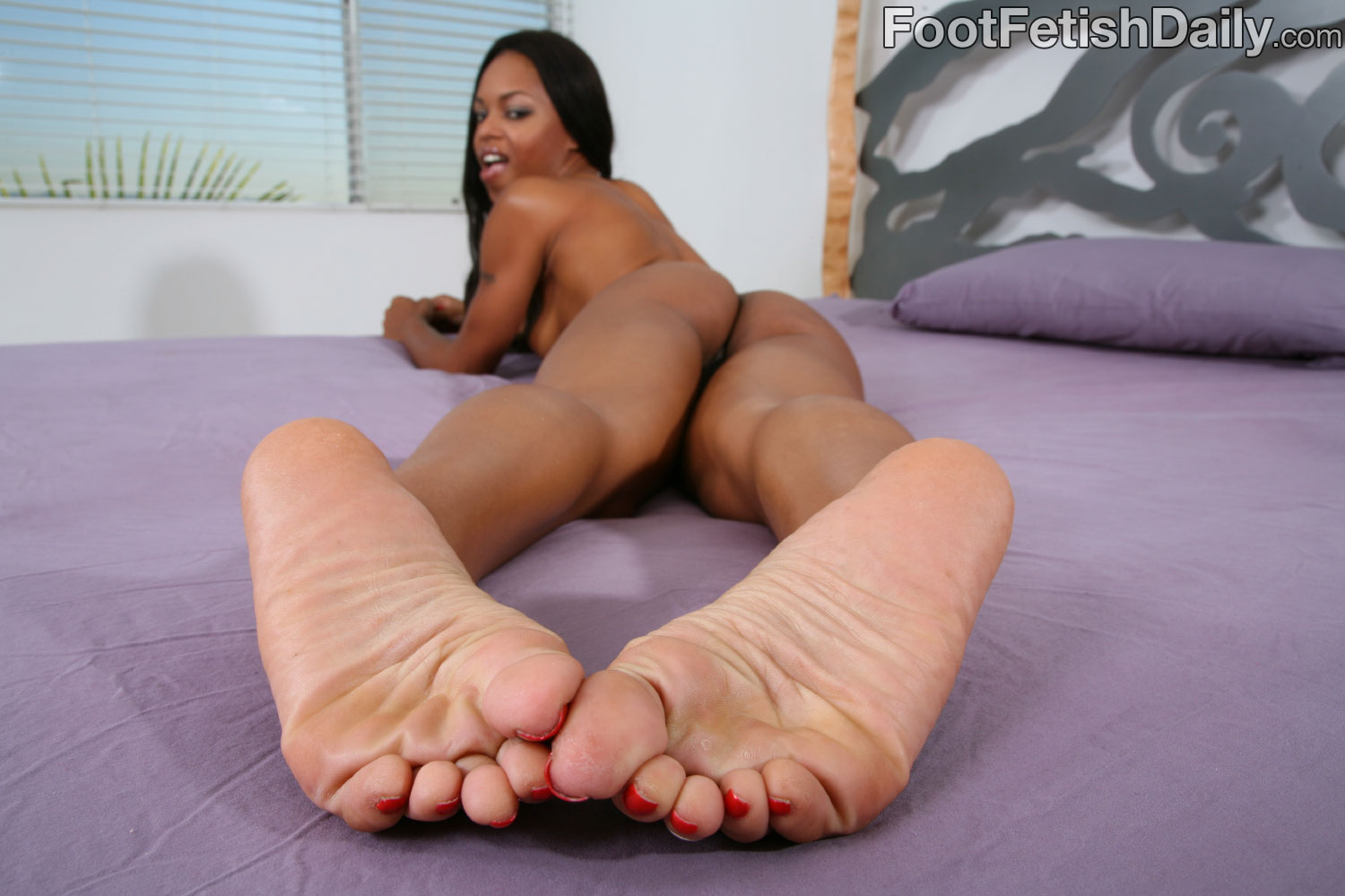 Good black foot fetish porn