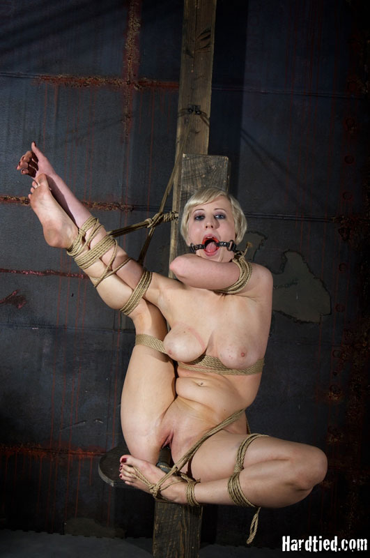 Sexy women completely bound