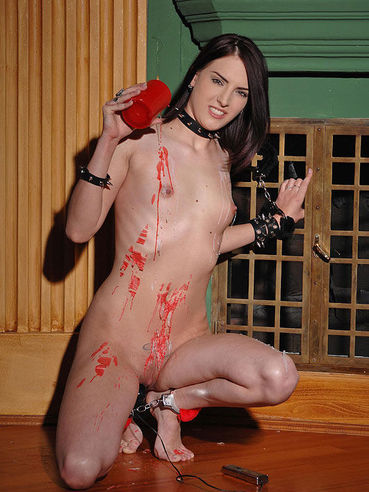 Fetish action with long haired Demetris is a must see. She needs to cum hard.