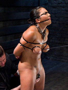 Sex toys are making delicious Adriana Luna get off real hard and she loves that a lot.