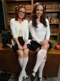 Nerdy Penny Pax only wants to lick Kristina Rose's delicious ass and pleasure it with her tongue.