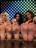 Dragon Lily, Kirsten Price, Ashley Fires, Francesca Le and Lorelei Lee use feet for fisting