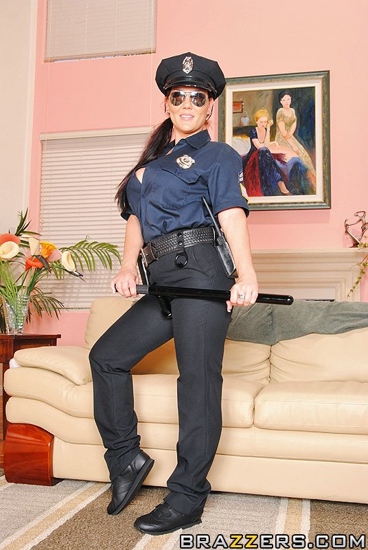 Claire dames police woman