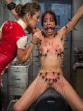 Felony gets humiliated and put into place by Lyla Storm after a bizarre session of drilling.