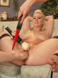 Cherry Torn and her fetish babes getting naked for hardcore fisting and sex toys & insertion games.