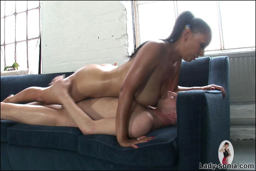 Naked oiled up domina Donna Ambrose with massively big ...