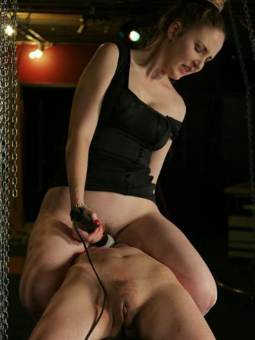 Another femdom scene where Chanta Rose shows her love for lesbian domination