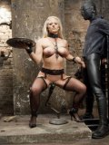 Holly Heart is done with posing and submits her scrumptious looking body to mind-blowing bondage.