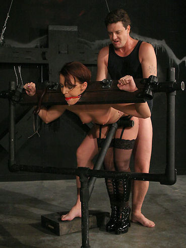 These are the bdsm scenes in which the guy Otto Bauer is showing his anger to Sara Faye