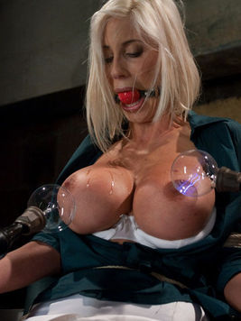 Wet big titted blonde Puma Swede gets tormented by Isis Love and Princess Donna Dolore