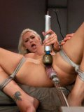 Princess Donna Dolore, Anikka Albrite and Katie Summers get drilled hard with sex machines.