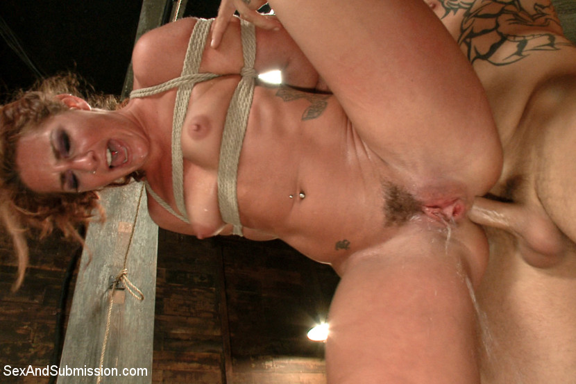 Rough girl bondage anal