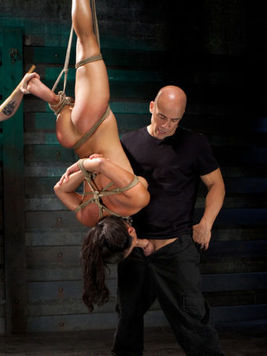 Adriana Luna has a new master and he is into rough sex more than into anything.