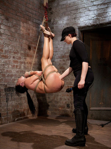 Ashli Orion in kinky bondage broken and humiliated with kinky sex toys and ropes.