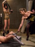 Felony makes sure that her tenderized underlings gets used up and are screaming during bondage.