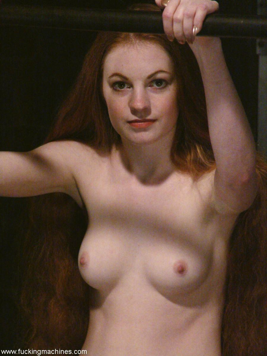 Long hair fetish sex redhead