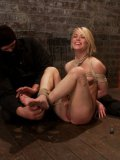Ash Hollywood is a hot blonde who enjoys being gagged, tied up and fucked like a whore.