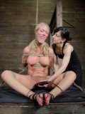 Simone Sonay has a new BDSM mistress Elise Graves who is more than cruel.