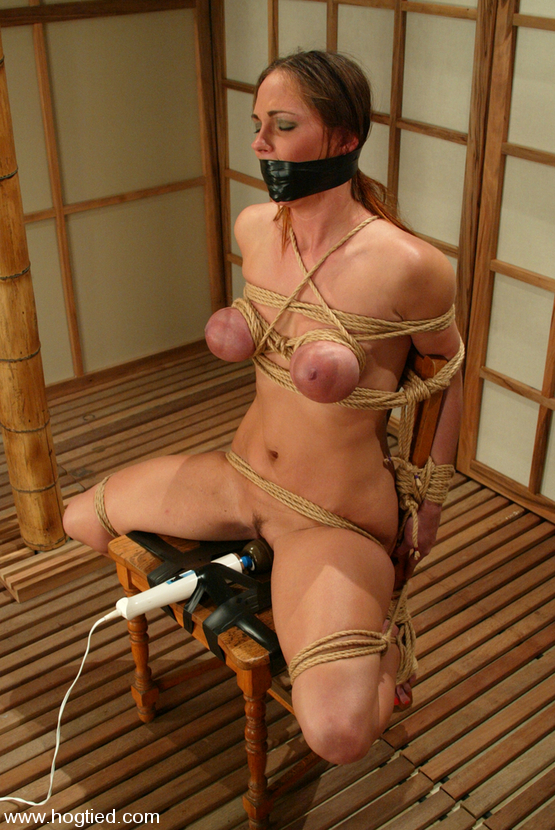 Tied to vibrator