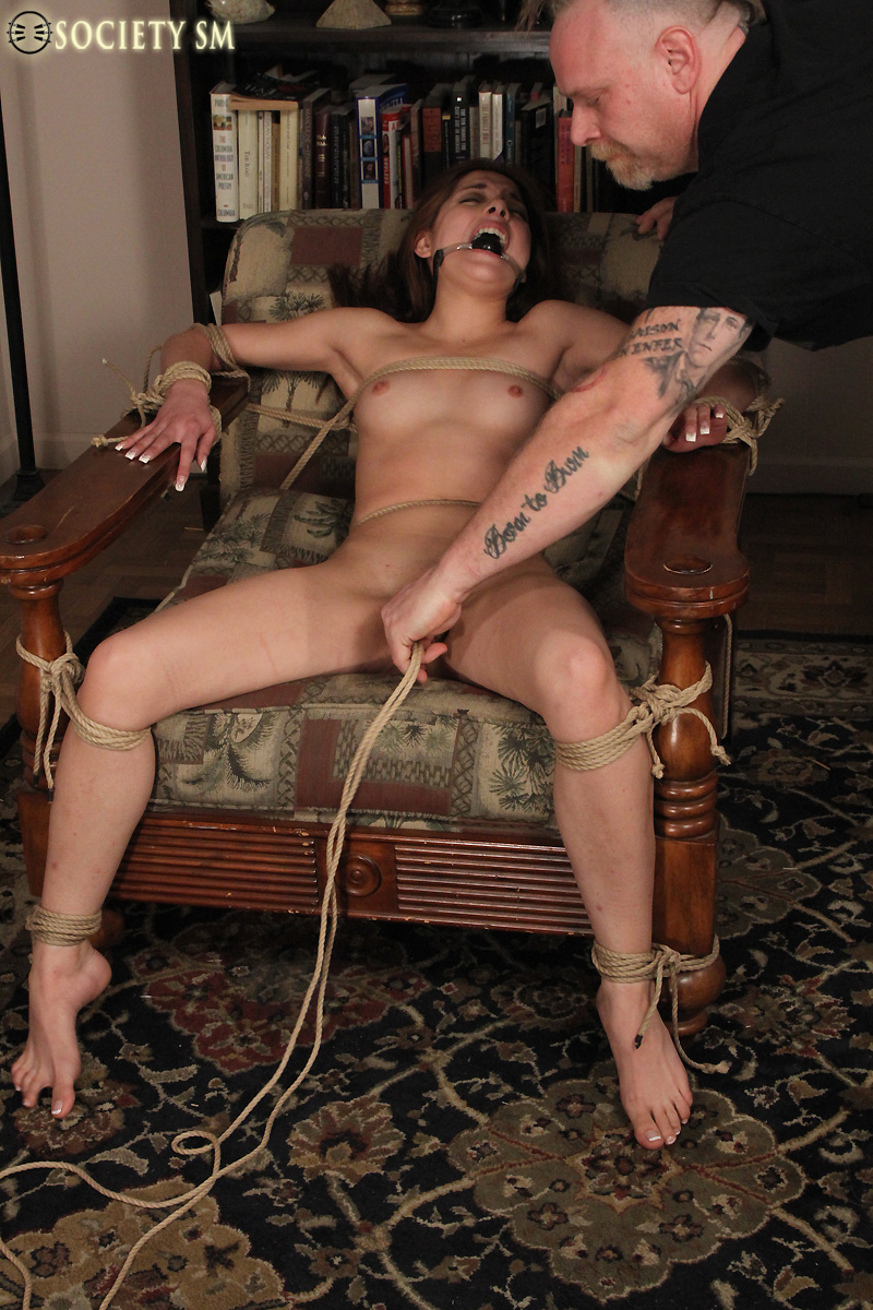 young and nude girls bondage