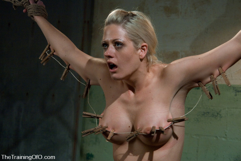 Chained big boobs sub gets fucked 7