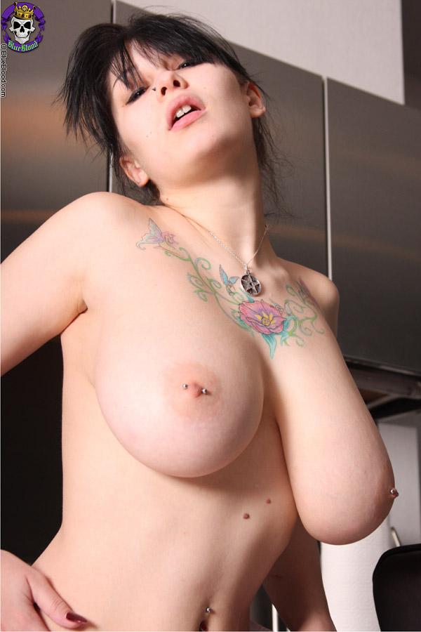 Opinion, brunette big tits pierced