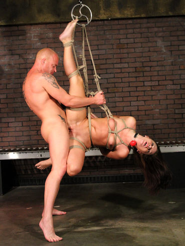 Slave girl Ashli Orion gets her fuck hole drilled with no mercy by hard dicked master