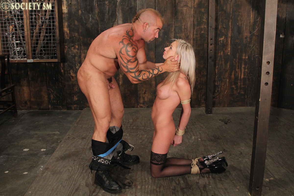 image Kaylee hilton bound taking fuck machine
