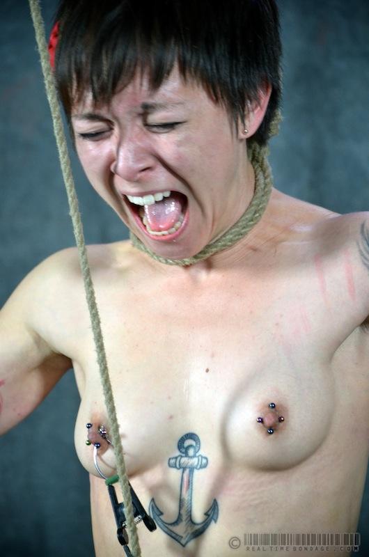 Asian mei mara brutal bdsm slave training and rough tit tort - 1 part 2