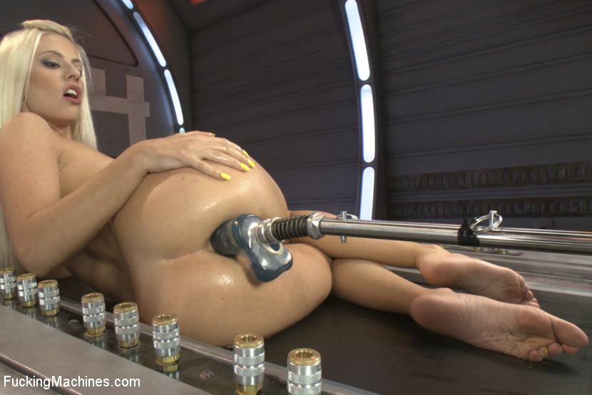 nude porn stars on fucking machines
