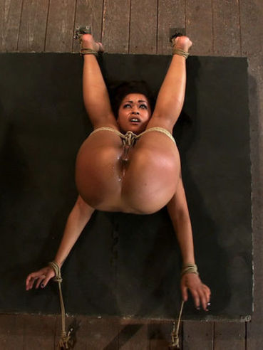 For those of you who are into wild BDSM action, Skin Diamond has something special.