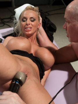 Wax, ropes and various sex stuffs – everything makes this Holly Halston suffer