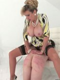 Lady Sonia likes to show who's boss with her divine body and a little spanking.