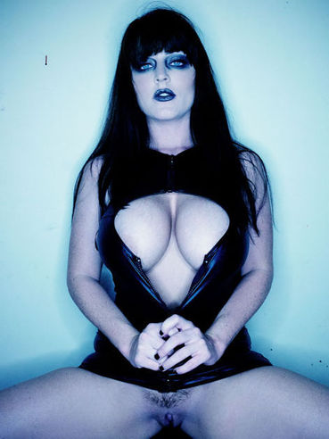 If you are into gothic porn, you will enjoy watching big tit honey Sophie Dee.