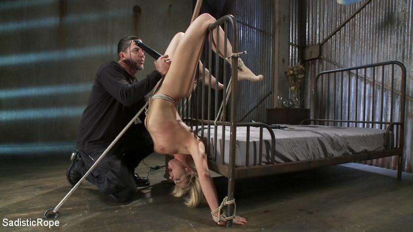 Bondage Slut Audrianna Angel Gets Chained And
