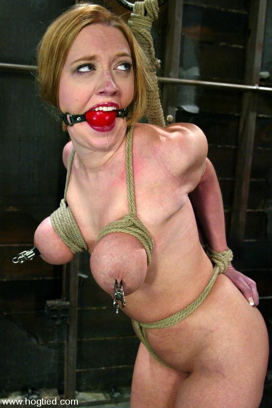 Brüste Bondage