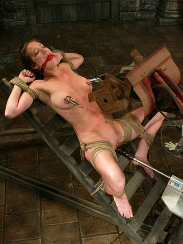 Bound Jade Marxxx gets her nipples tortured and her body ruthlessly caned