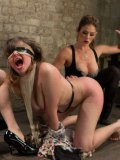 Felony and dreamy babes getting stuffed and drilled by experienced bondage masters.